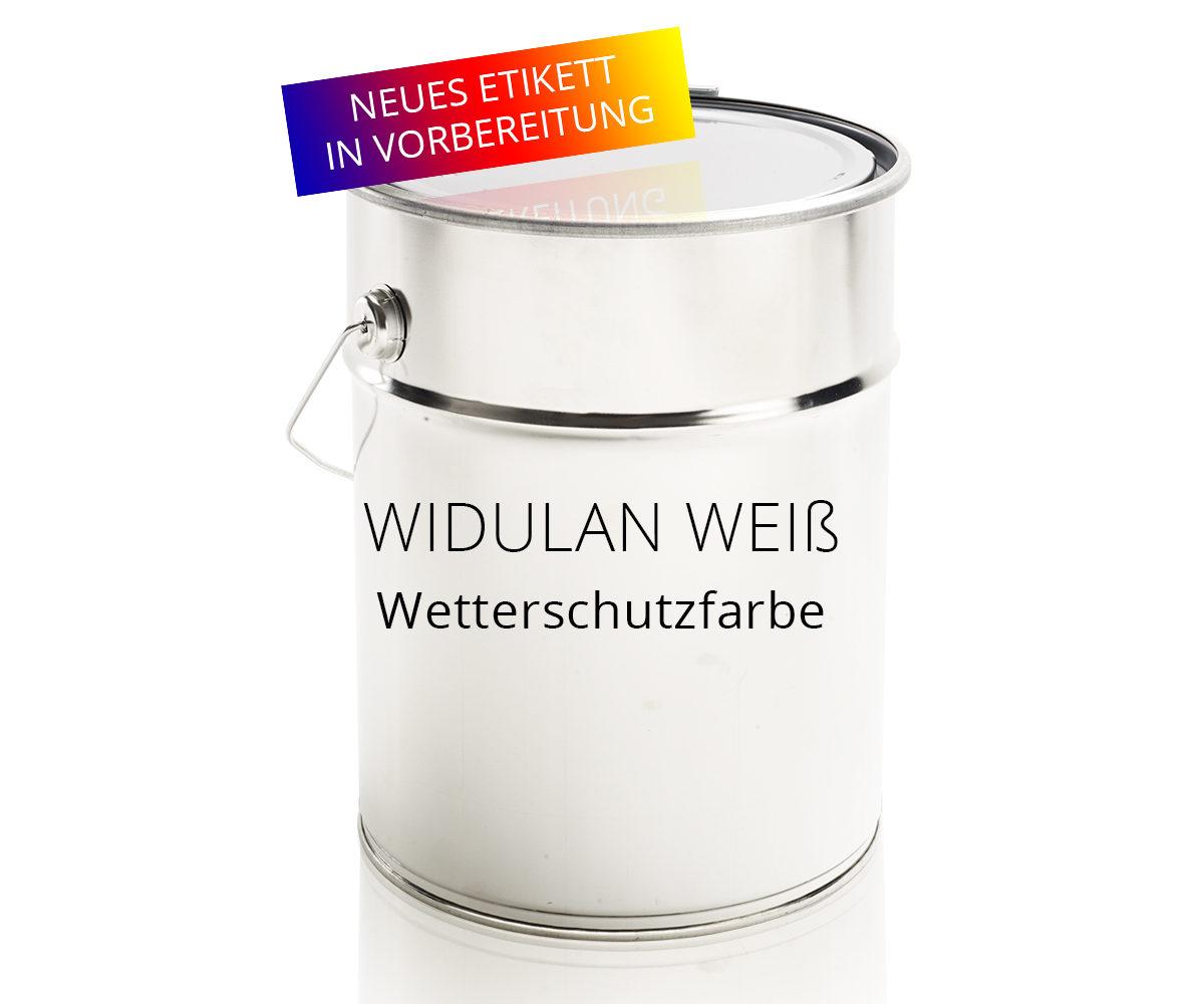 Widulan Weiß Wetterschutzfarbe