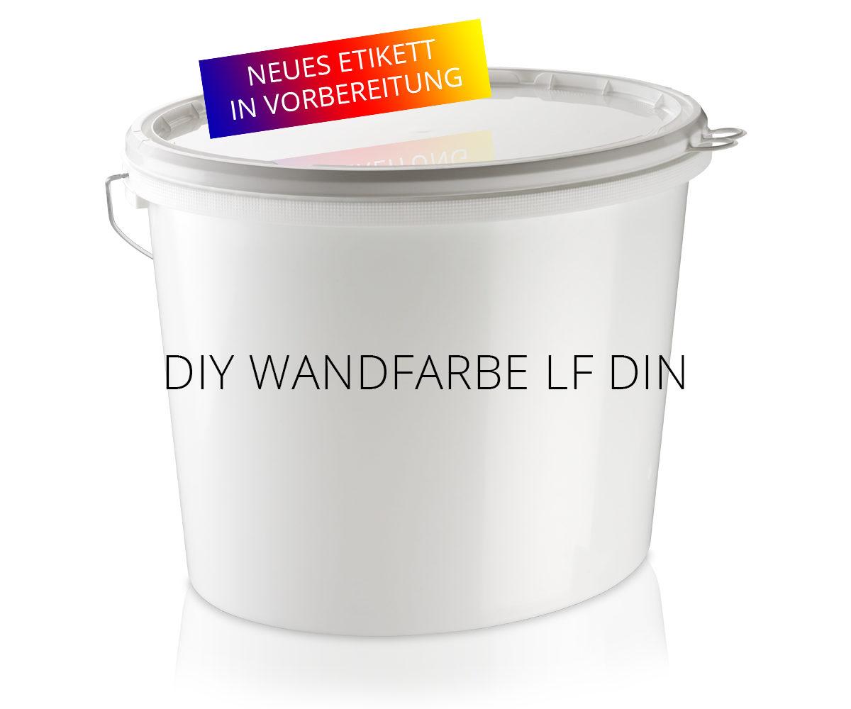 DIY Wandfarbe LF DIN