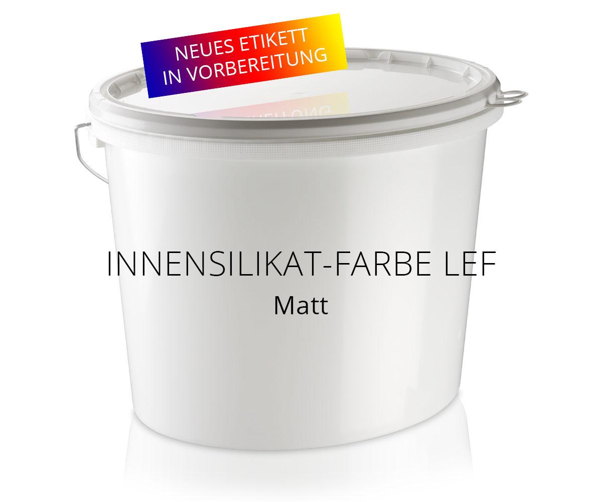 Innensilikat-Farbe LEF matt