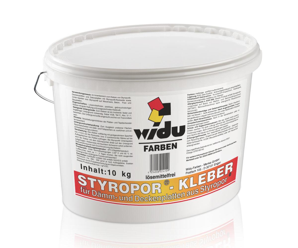 Styropor®-Kleber LF  auch für Hartschaum