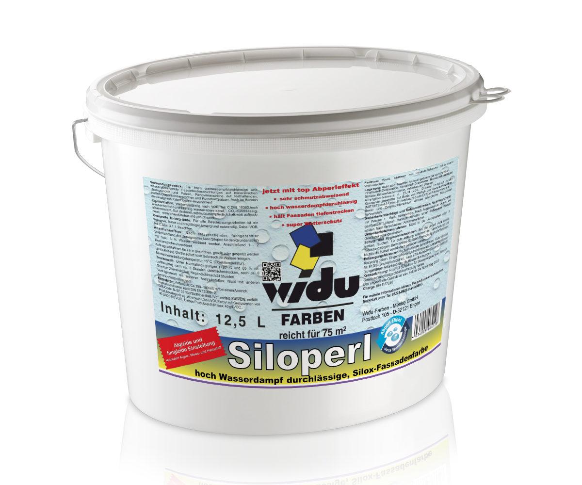 Siloperl Weiß Silox-Fassadenfarbe