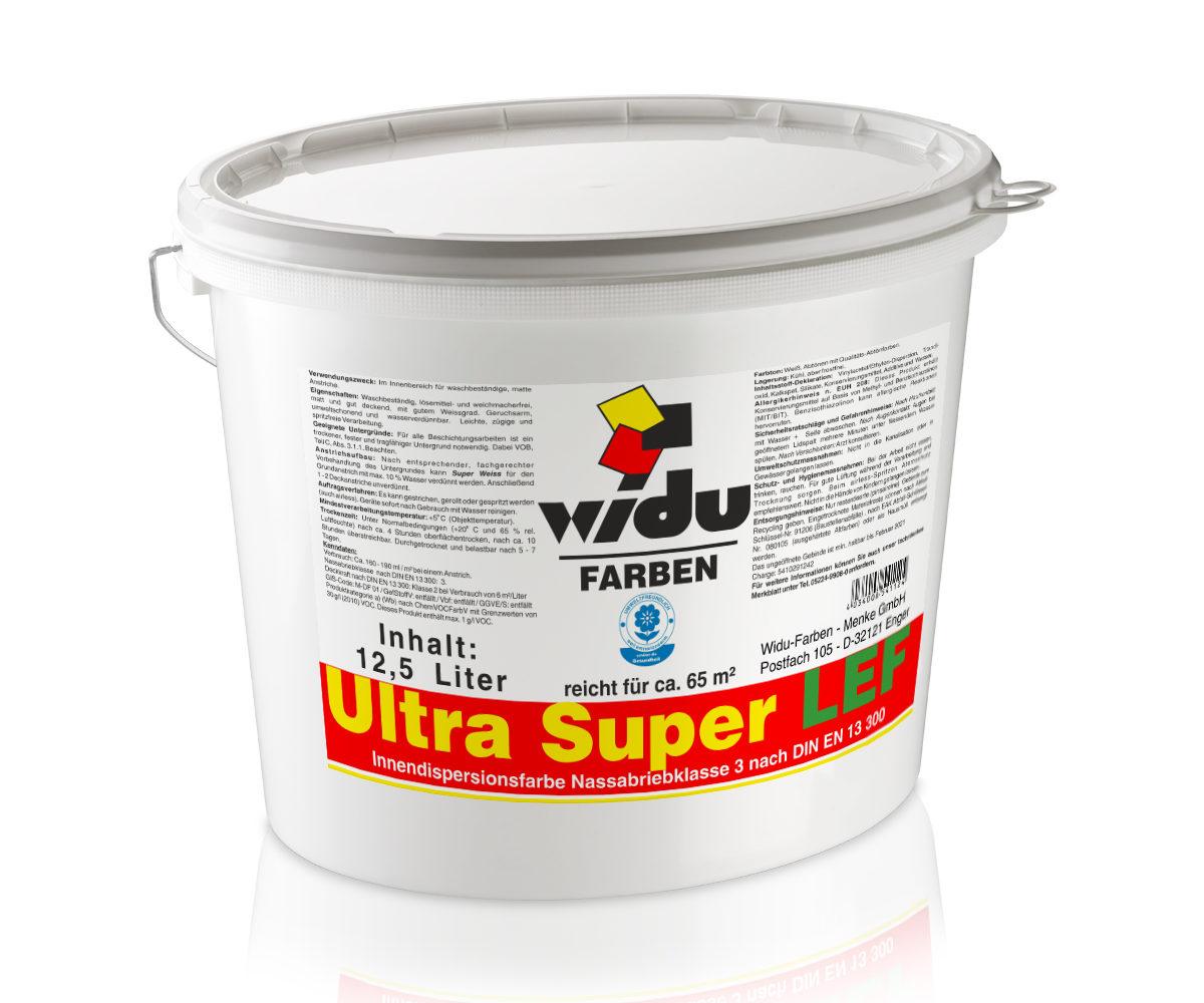 Ultra Super LEF Nassabriebklasse 3 DIN EN 13 300