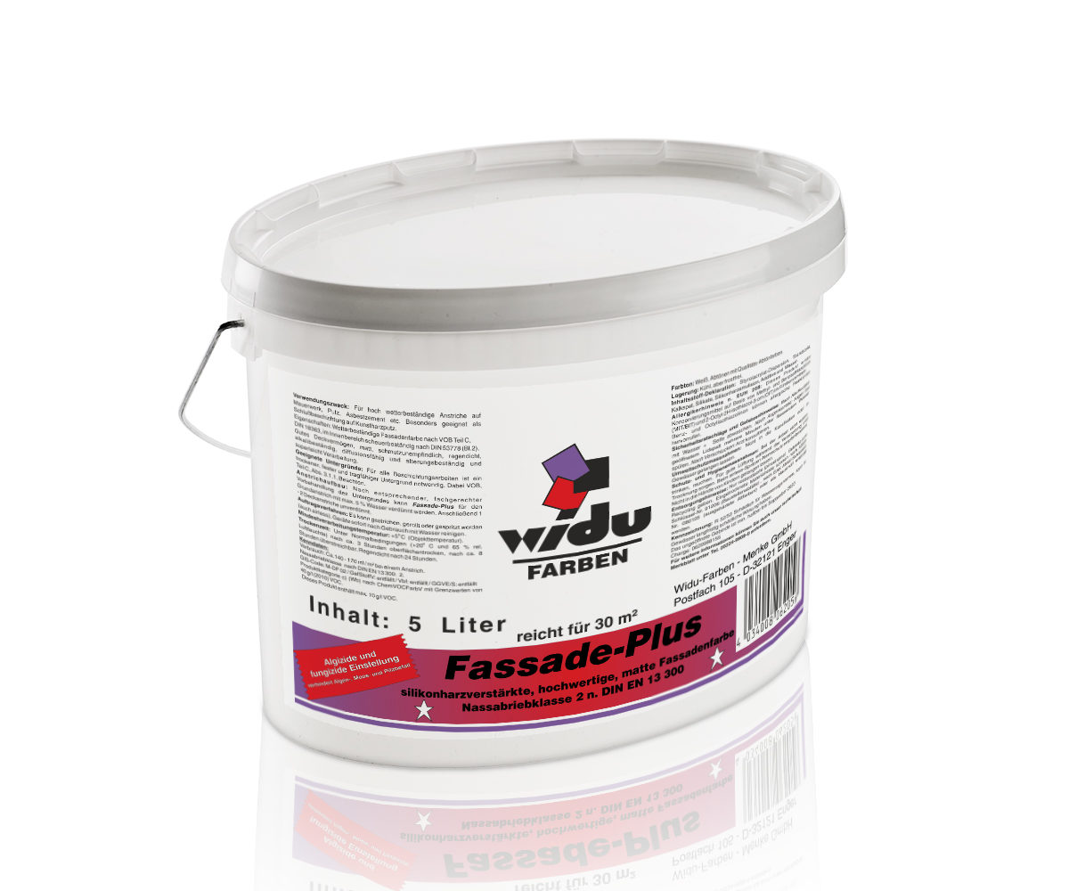 Fassade-Plus Silos-Fassadenfarbe silikonharzverstärkt