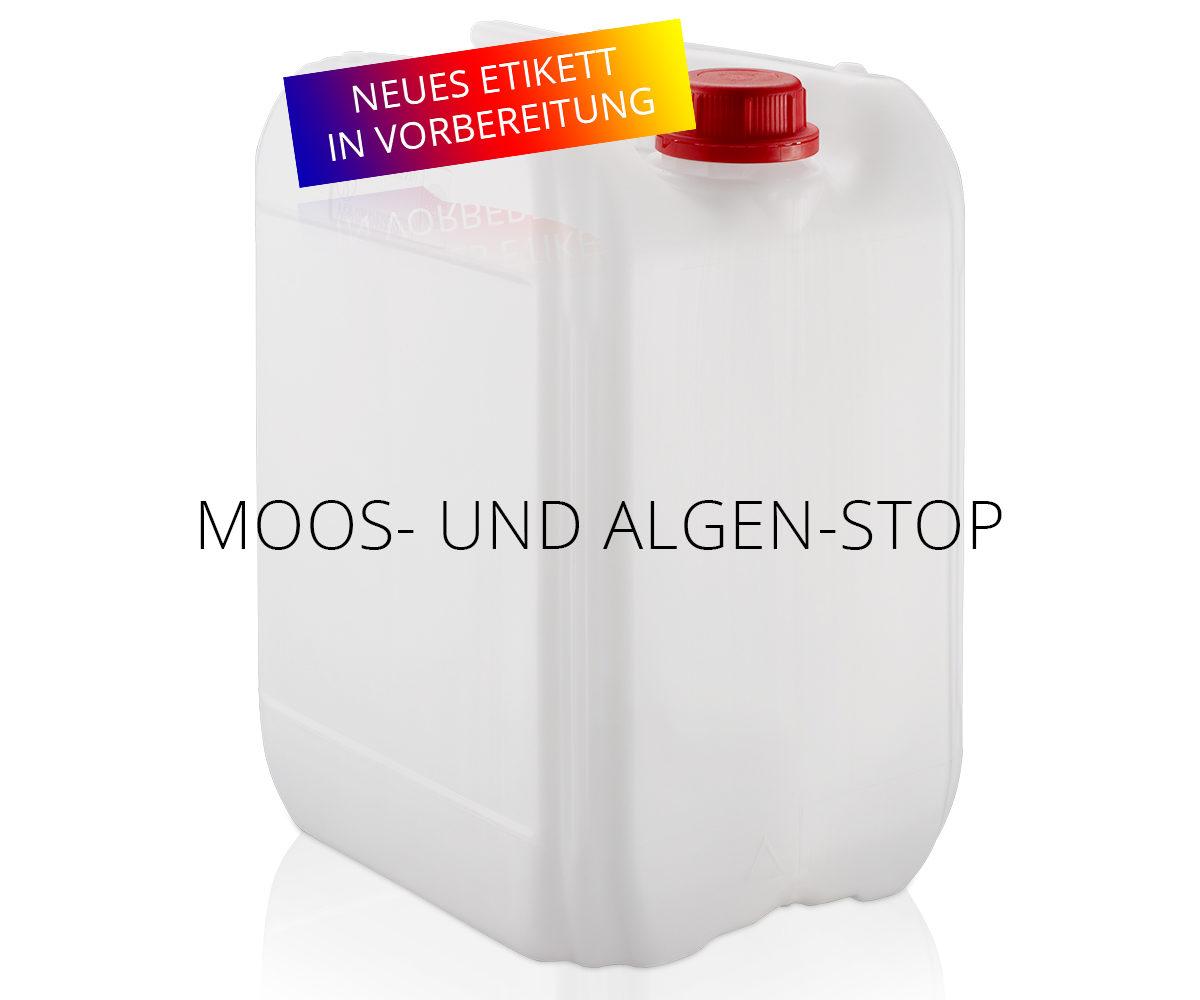Moos- und Algen-Stop